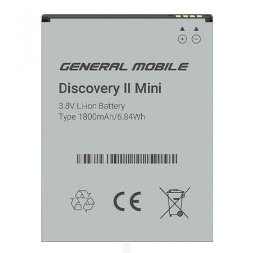 General Mobile Discovery 2 Mini Orjinal Batarya 1800 mAh  (Telpa Gar.)