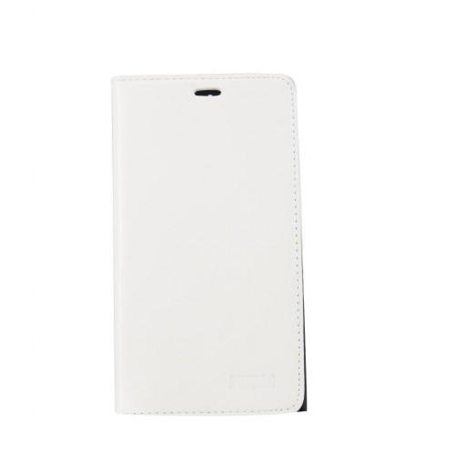 General Mobile Discovery Elite BUFALO Gizli Mıknatıslı Cüzdanlı Kılıf Beyaz