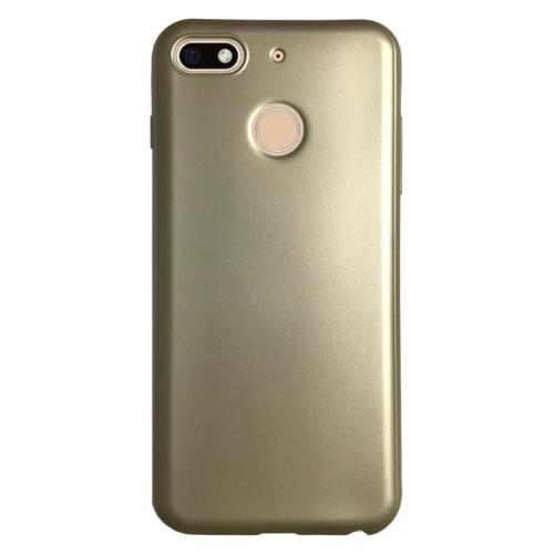 General Mobile GM8 GO Premium Simple Silikon Arka Kapak Gold