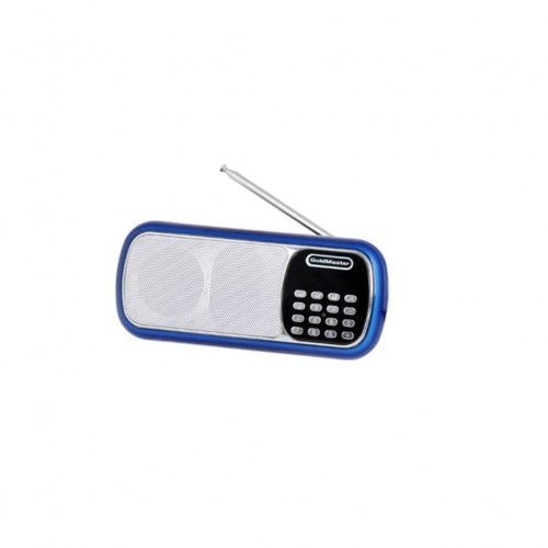 Goldmaster SR-144 USB Taşınabilir Hoparlörlü Radyolu Oynatıcı Mavi