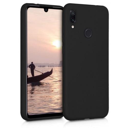 Honor 8X - Premium Simple Silikon Arka Kapak Siyah