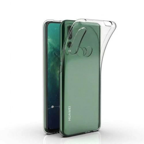 Huawei Y9 2019 - Soft Silikon 0.3mm Şeffaf Kapak-Kılıf