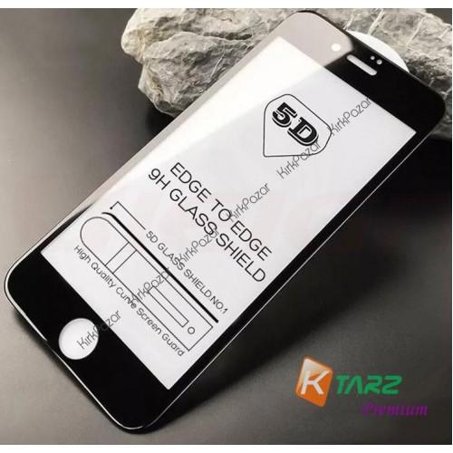 iPhone 6 6s 7 8 X 5D Renkli Kavisli Cam Ekran Koruyucu