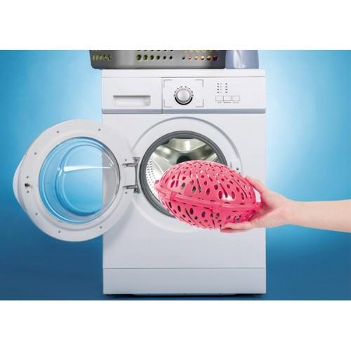 Klipsli Çamaşır Makinesinde Başörtü Şal Yıkama Topu Asorti