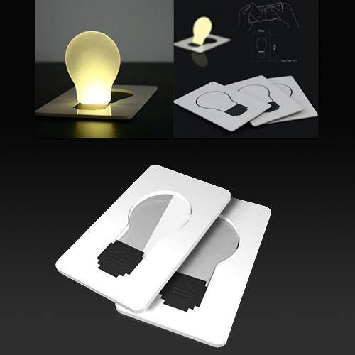 Kredi Kartı Şeklinde LED Cep Lambası Lamba