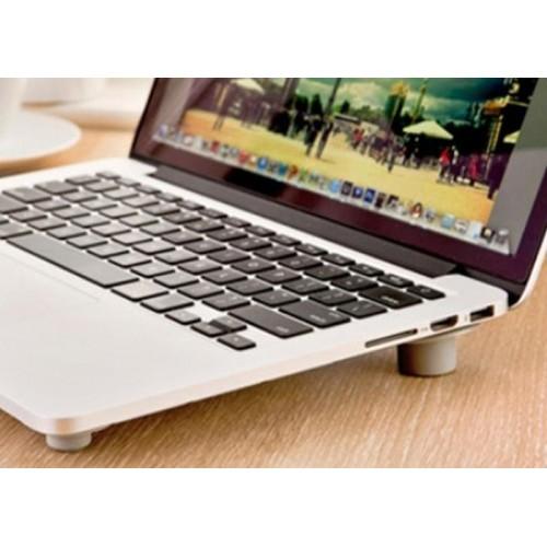 Laptop Soğutucu Yükseltici Vantuzlu Ayaklar 4 Adet