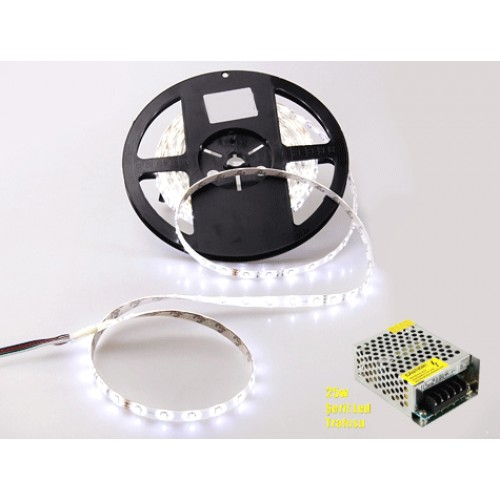LED Şerit Aydınlatma Dekorasyon  İç Mekan 5 Metre Trafo Hediyeli