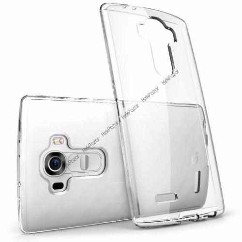 LG G4 Stylus 0.3mm Spada Silikon Şeffaf