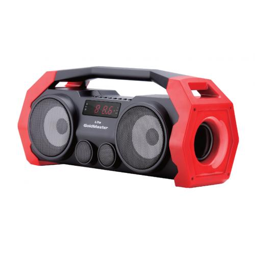Life Bluetooth Hoparlör ve Radyo ( KIRMIZI )