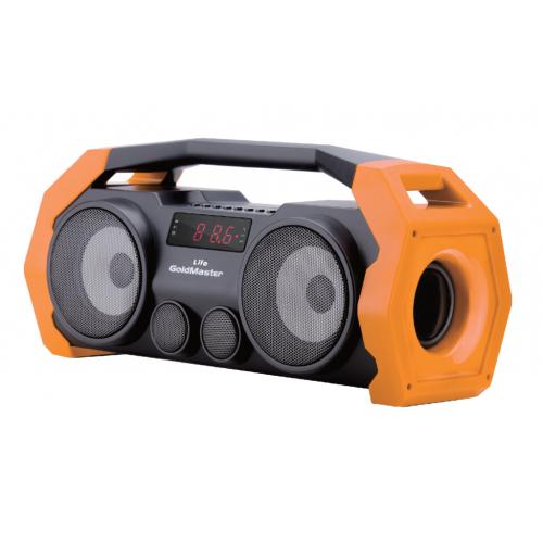 Life Bluetooth Hoparlör ve Radyo ( TURUNCU )