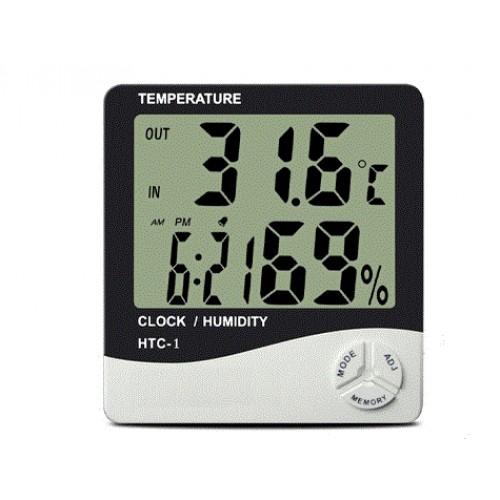 Masaüstü Dijital Termometre Nem Ölçer Higrometre