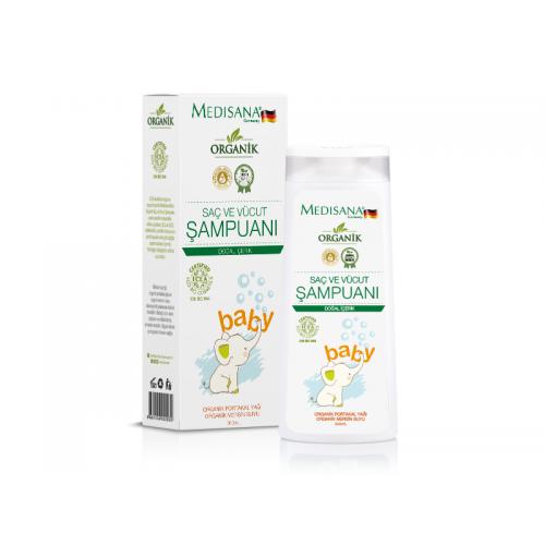 Medisana MS-620 Medisana Baby Organik Saç ve Vücut Sampuanı 300 ML