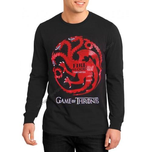 Game Of Trones Targaryen Uzun Kol Sweatshirt