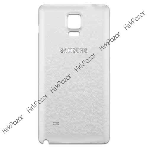 Note 4 N910 Orjinal Pil Kapak Beyaz