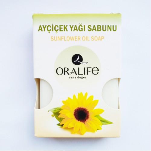 Oralife Naturel Ayçiçek Yağı Sabun 3 Adet