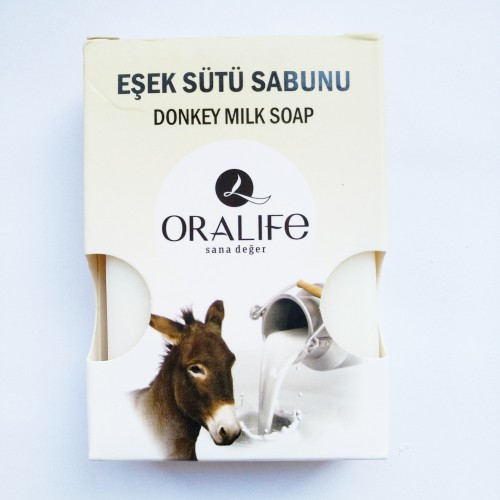 Oralife Naturel Eşek Sütü Sabun 1 Adet