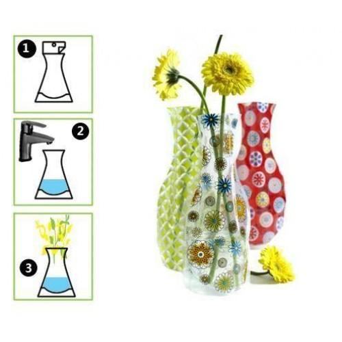 Plastik Katlanabilir Vazo Asorti