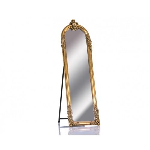 Porio M64-117 - Antik Altın Boy Aynası 165*50