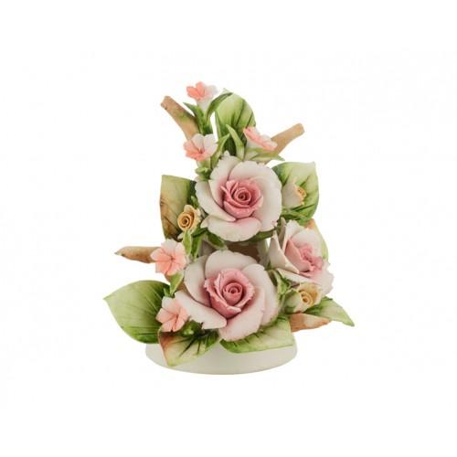 Porio PR01-1056-Güllü Çiçek Süsü 12*15