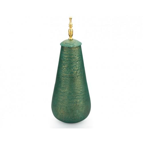 Porio PR10-1006 - Altın Saplı Yeşil Kapaklı Küp 62cm