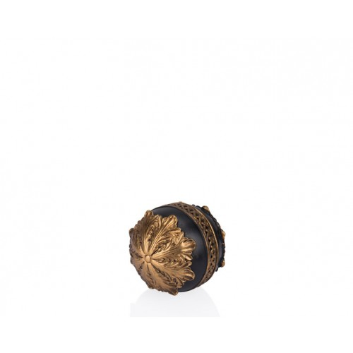 Porio PR12-1004 - Altın Siyah Dekoratif Top 10*10*10