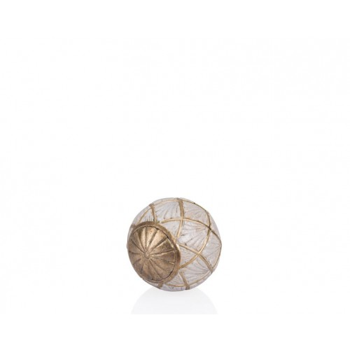 Porio PR12-1017 - Altın Krem Dekoratif Top 10*10*10