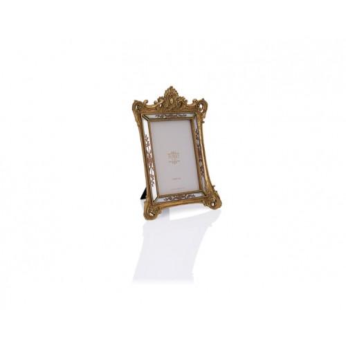 Porio PR32-1034 - Altın Taçlı Çerçeve 13*18