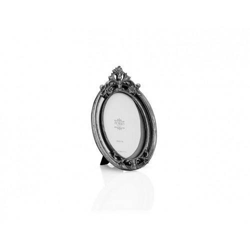 Porio PR32-1044 - Gümüş Taçlı Oval Çerçeve 13*18