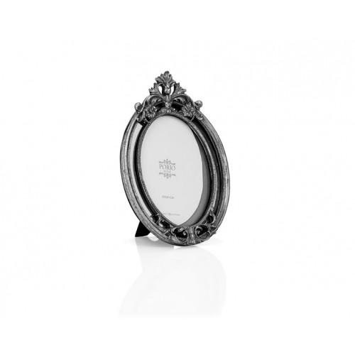 Porio PR32-1045 - Gümüş Taçlı Oval Çerçeve 15*20