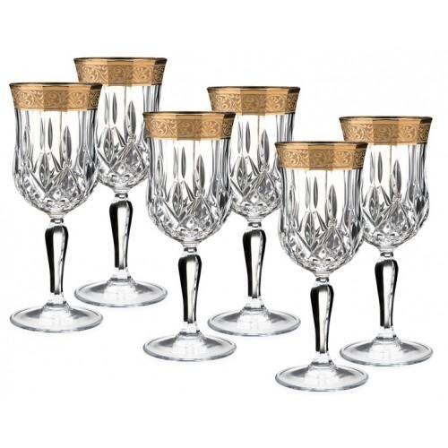 Porio PR66-1105 - Grand Altın Kırmızı şarap Kadeh