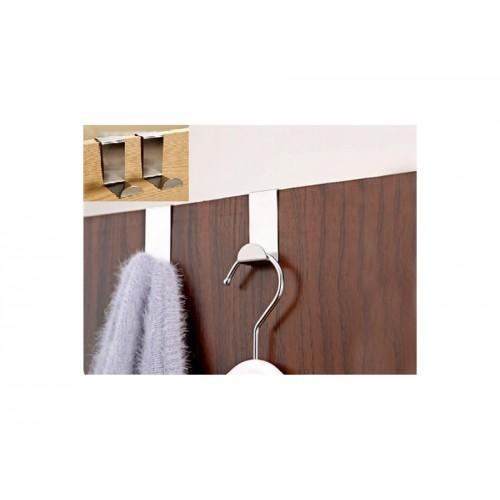 Pratik Kullanımlı Kapı Arkası Metal Askılar 2 Adet