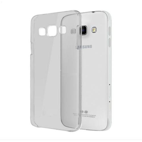 Samsung Galaxy J1 2016 (J120) Soft Silikon 0.3mm Şeffaf-Siyah