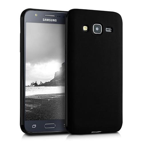 Samsung Galaxy J7 J700 Premium Simple Silikon Arka Kapak Kılıf