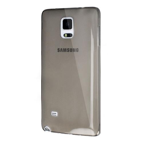 Samsung Galaxy Note 4 (N910) Soft Silikon 0.3mm Şeffaf-Siyah
