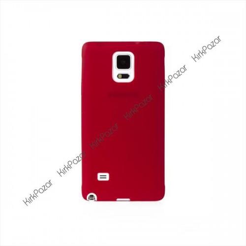 Samsung Galaxy Note 4 Ultrafit Kılıf Kırmızı