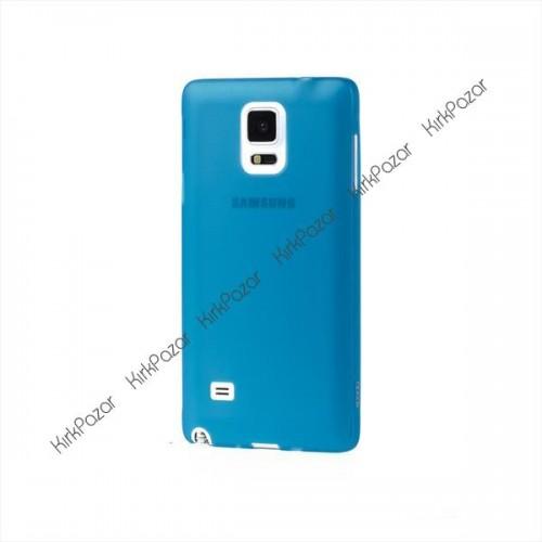 Samsung Galaxy Note 4 Ultrafit Kılıf Mavi