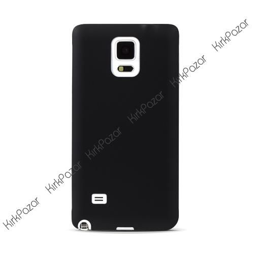 Samsung Galaxy Note 4 Ultrafit Ultra İnce Silikon Kılıf Siyah