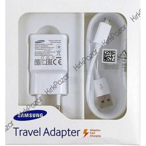 Samsung Orijinal Kutulu Hızlı Şarj Aleti 2.0A EP-TA20EWEUGWW Beyaz