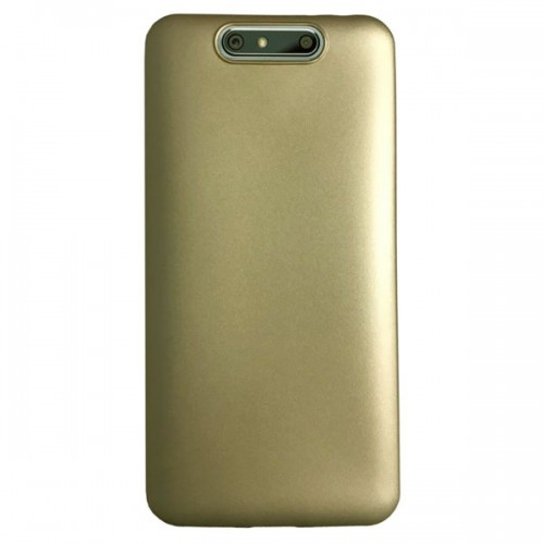 Turkcell T80 Premium Simple Silikon Arka Kapak Gold