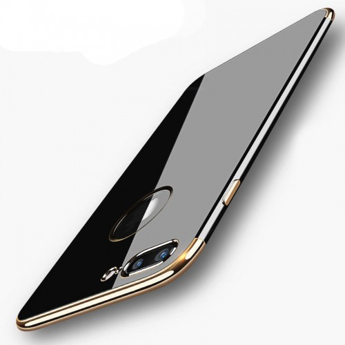 UltraFit Jet Black iPhone 7 Plus Silikon Arka Kapak