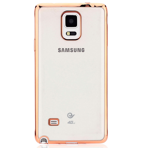 UltraFit Laser Color Samsung Note 4 N910 Silikon Kılıf