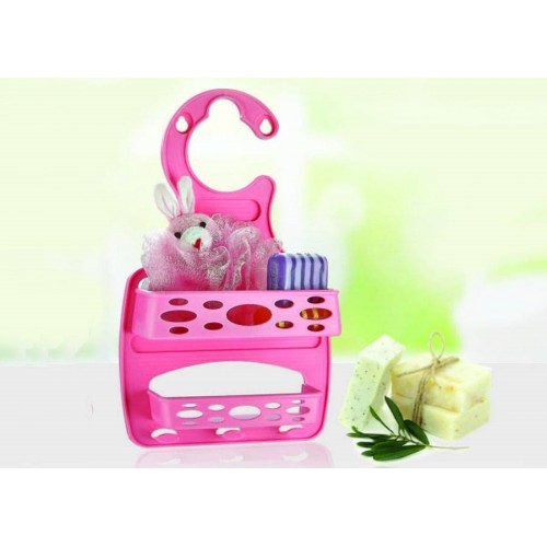 Pronto Mini Plastik 2 Katlı Banyo Rafı