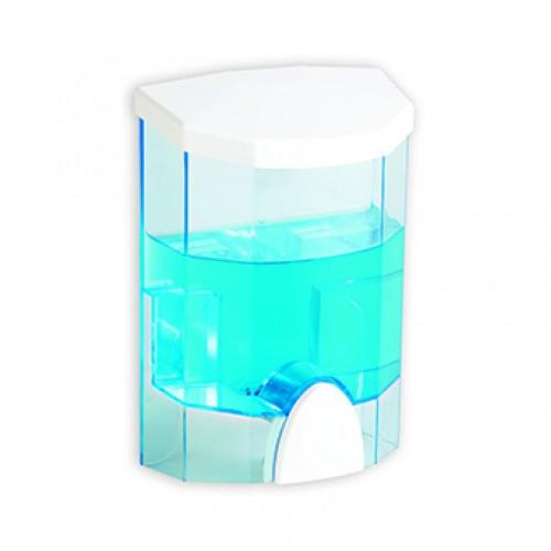 Pratik Duvara Monteli Şeffaf Ekonomik Sıvı Sabunluk 500 ML