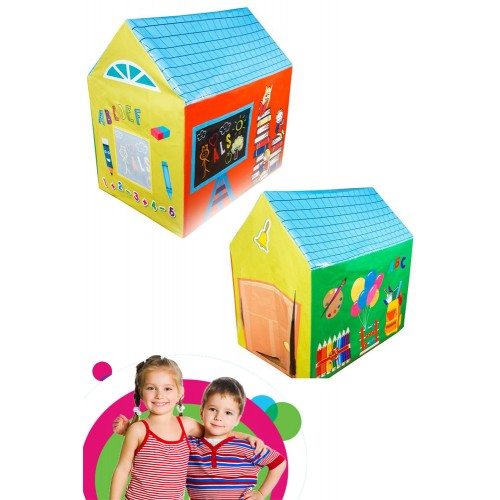 Erkek Çocuk Oyun Çadırı Oyun Evi 97cmx97cmx67cm