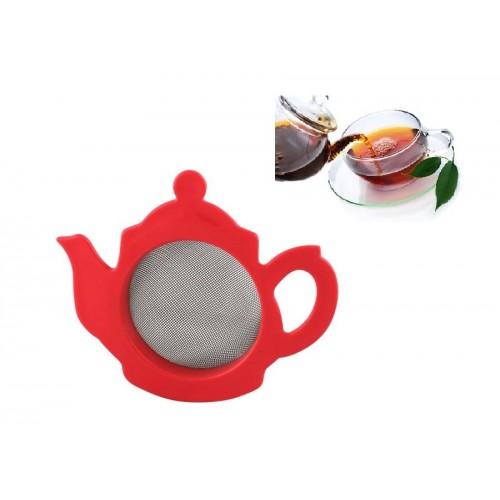 Çay Süzgeci Çaydanlık Şeklinde Süzgeç Asorti