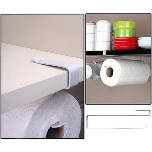 Metal 2 Cm Kalınlık Raf Altı Kağıt Havlu Fincan Askılığı