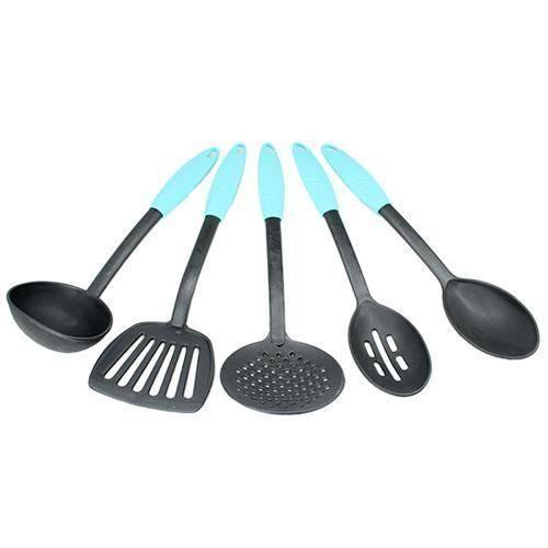 Mutfağınız İçin Yapışmaz 5 Parça Kepçe Seti Asorti