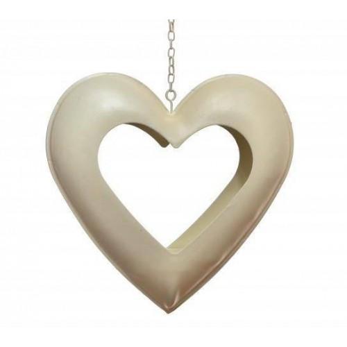 Kalp Şekilli Modelli Simli Renkli Tealight Aşk Mumları